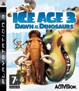 Ice Age 3: Dawn of the Dinosaurs PS3 cover (BLES00522)