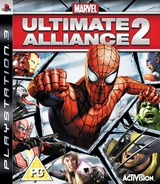 Marvel: Ultimate Alliance 2 PS3 cover (BLES00546)