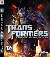 Transformers: Revenge of the Fallen PS3 cover (BLES00577)