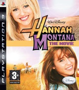 Hannah Montana: The Movie PS3 cover (BLES00588)