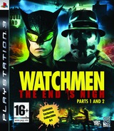 Watchmen: The End is Nigh - Part 1&2 PS3 cover (BLES00605)