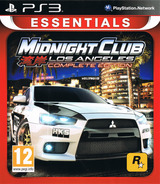 Midnight Club: Los Angeles - Complete Edition PS3 cover (BLES00652)
