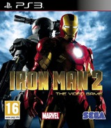 Iron Man 2: The Video Game PS3 cover (BLES00885)