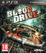 Blood Drive PS3 cover (BLES01046)