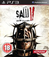 Saw II: Flesh & Blood PS3 cover (BLES01050)