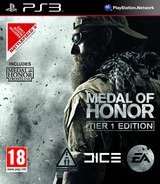 Medal of Honor: Tier 1 Edition PS3 cover (BLES01106)