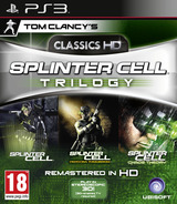 Tom Clancy's Splinter Cell: Trilogy PS3 cover (BLES01146)