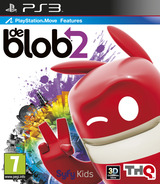 de Blob 2 PS3 cover (BLES01160)