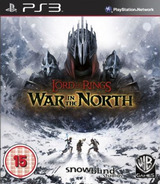 Lord of the Rings: War in the North PS3 cover (BLES01181)
