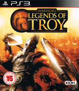 Warriors: Legends of Troy PS3 cover (BLES01183)