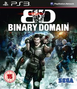 Binary Domain PS3 cover (BLES01211)