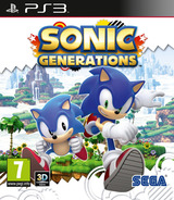 Sonic Generations PS3 cover (BLES01236)