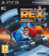 Generator Rex : Agent of Providence PS3 cover (BLES01271)