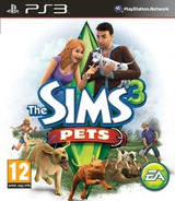 The Sims 3: Pets PS3 cover (BLES01368)