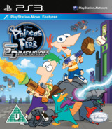 Phineas and Ferb: Across the 2nd Dimension PS3 cover (BLES01376)