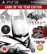 Batman: Arkham City PS3 cover (BLES01587)