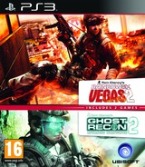Tom Clancy's Rainbow Six Vegas 2 (Complete Edition) + Ghost Recon Advanced Warfighter 2 (Double Pack) PS3 cover (BLES01590)