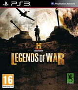 History: Legends of War PS3 cover (BLES01744)