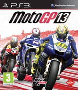 MotoGP 13 PS3 cover (BLES01805)