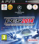 Pro Evolution Soccer 2014 PS3 cover (BLES01935)