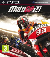 MotoGP 14 PS3 cover (BLES01996)