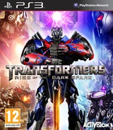 Transformers: Rise of the Dark Spark PS3 cover (BLES02018)