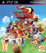 One Piece: Unlimited World Red PS3 cover (BLES02020)