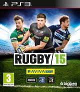Rugby 15 PS3 cover (BLES02086)