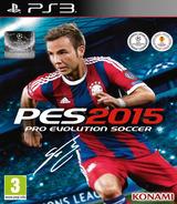 Pro Evolution Soccer 2015 PS3 cover (BLES02088)