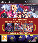 The Disgaea Triple Play Collection PS3 cover (BLES02198)