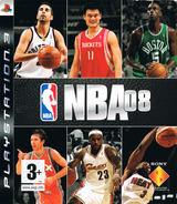 NBA 08 PS3 cover (BCES00112)