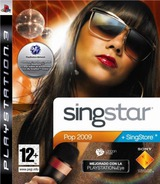 SingStar Pop 2009 PS3 cover (BCES00342)