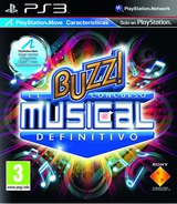 Buzz! El Concurso Musical Definitivo PS3 cover (BCES00830)
