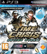 Time Crisis: Razing Storm PS3 cover (BCES01070)