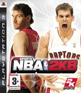 NBA 2K8 PS3 cover (BLES00138)