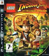 LEGO Indiana Jones: La Trilogía Original PS3 cover (BLES00254)