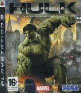 El Increíble Hulk: El Videojuego PS3 cover (BLES00289)