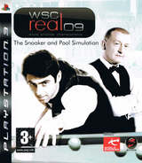WSC Real 09: World Snooker Championship PS3 cover (BLES00290)