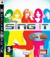 Disney Sing It PS3 cover (BLES00378)