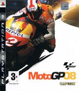 MotoGP 08 PS3 cover (BLES00396)