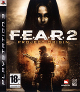 F.E.A.R. 2: Project Origin PS3 cover (BLES00464)