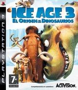 Ice Age 3: El Origen De Los Dinosaurios PS3 cover (BLES00522)