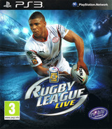 Rugby League Live PS3 cover (BLES00777)