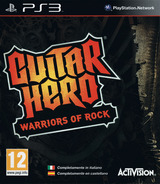 Guitar Hero: Warriors of Rock PS3 cover (BLES00801)