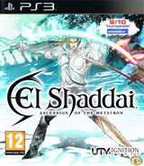 El Shaddai: Ascension of the Metatron PS3 cover (BLES01163)