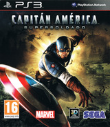 Capitán América: Super Soldado PS3 cover (BLES01167)