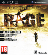 Rage: Anarchy Edition PS3 cover (BLES01378)