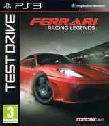 Test Drive: Ferrari Racing Legends PS3 cover (BLES01414)