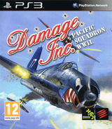 Damage Inc. Pacific Squadron WWII PS3 cover (BLES01563)
