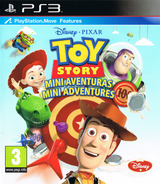 Toy Story: Mini Aventuras PS3 cover (BLES01730)